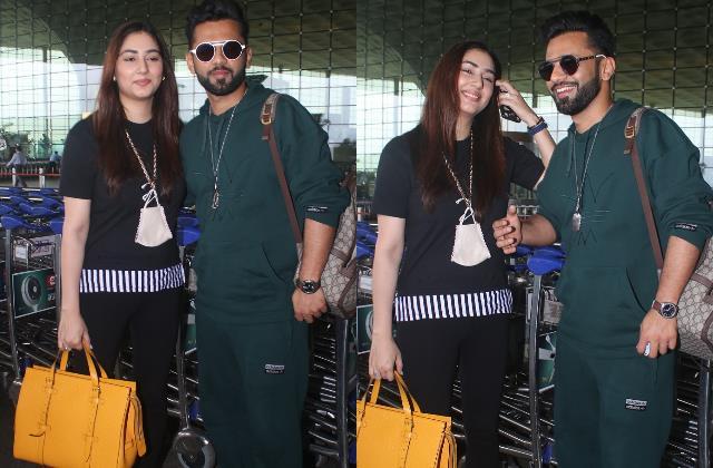 rahul vaidya disha parmar off to maldives