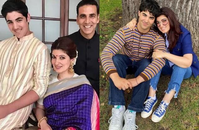akshay kumar son aarav turns 19 mother twinkle khanna wishes birthday him