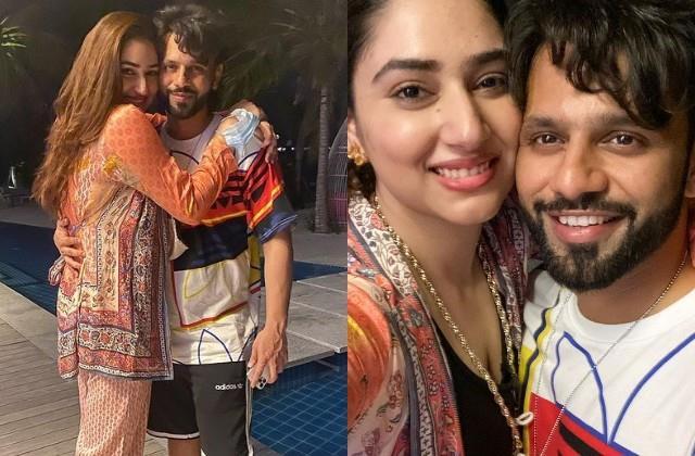 disha parmar shares romantic photos on husband rahul vaidya birthday