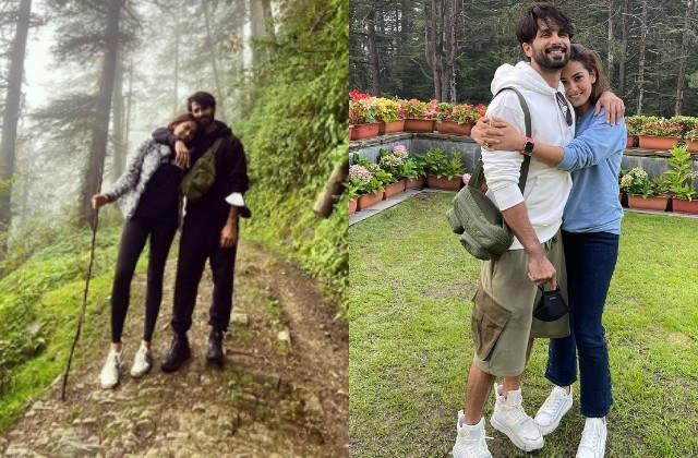 shahid kapoor enjoys vacation with wife mira rajput in hills