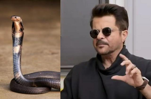 anil kapoor reaction when fan said he drink snake blood to look young