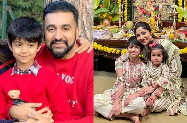 shilpa son viaan first post after his father raj gets bail in adult movie case