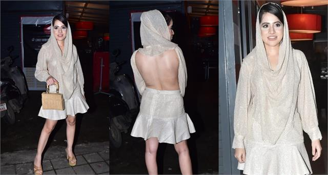 bigg boss ott fame urfi javed bold look in backless dress