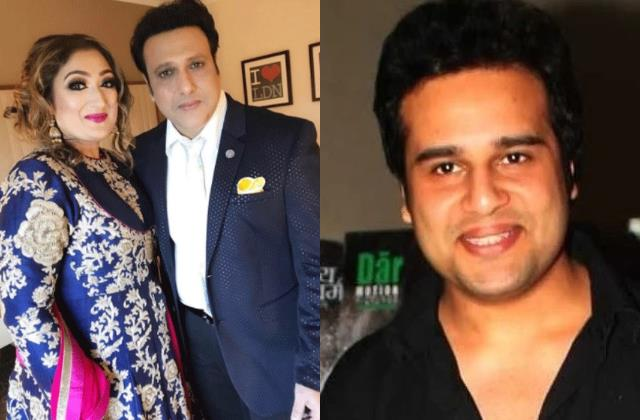 govinda wife sunita ahuja break silence on actor and krushna abhishek dispute