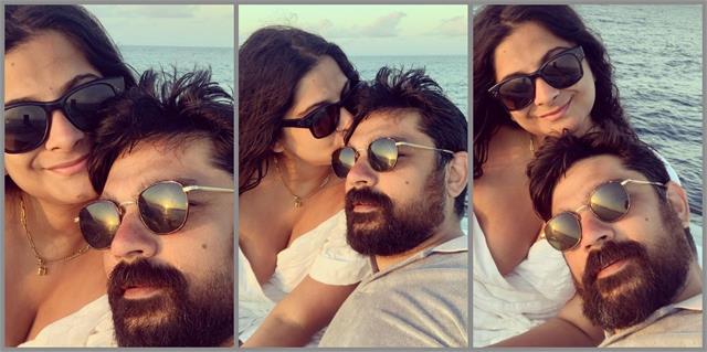 rhea kapoor and karan boolani chill during maldives honeymoon