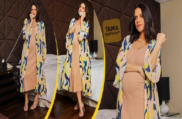pregnant neha dhupia shares her photos