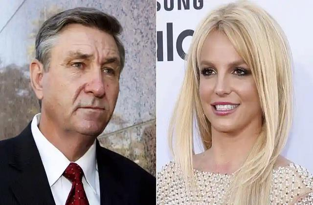 singer britney spears father jamie spears suspended from conservatorship
