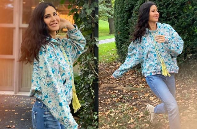 katrina kaif enjoying with nature after shooting of film  tiger 3