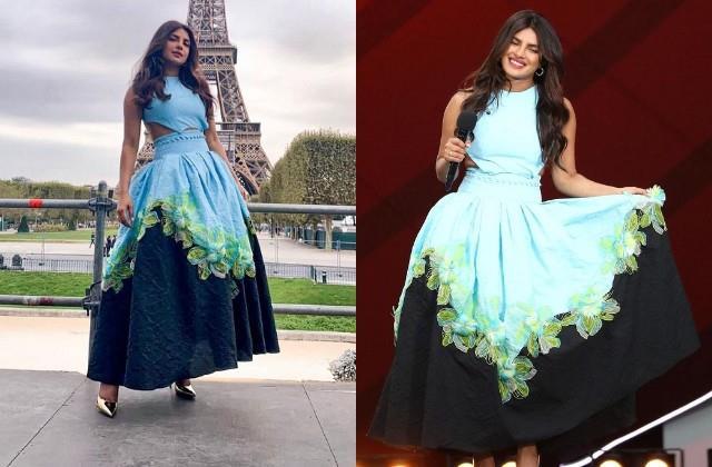 priyanka chopra host global citizens event in paris photos viral