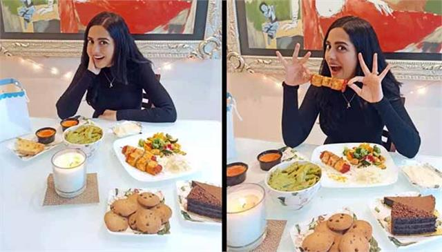 amrita rao treats herself with restaurant food after 19 months