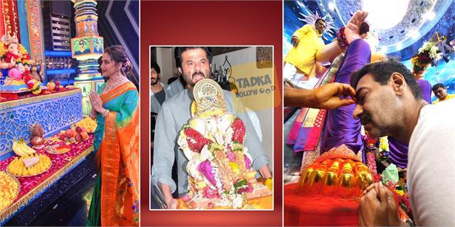 madhuri ajay devgan to anil kapoor wishes fans ganesh chaturthi
