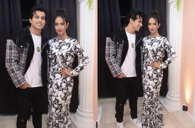avika gor looks stylish as she spotted with aadil khan