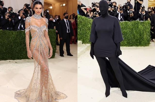 kim kardashian and kendall jenner photos viral from met gala