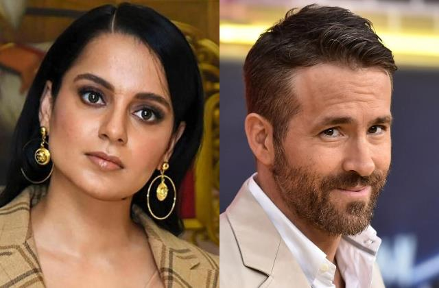 kangana ranaut reacts to ryan reynolds hollywood is mimicking bollywood comment