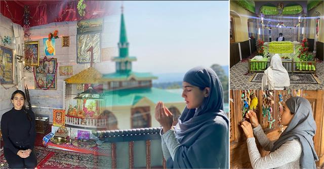 sara ali khan shares her kashmir vacation photos