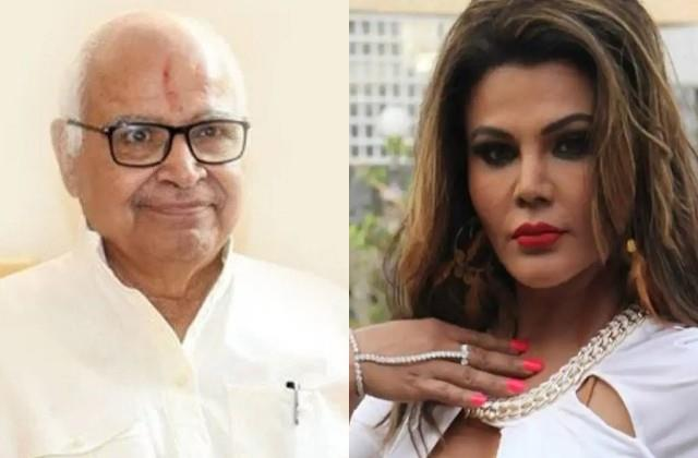 rakhi sawant raged on up speaker hriday narayan dixit for commenting on clothes