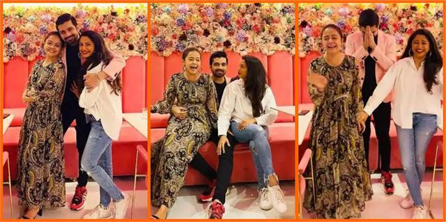 after long time  saath nibhana saathiya  stars seen together
