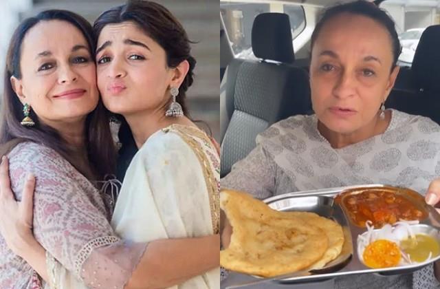 alia bhatt mother soni razdan enjoying amritsari chole bhature