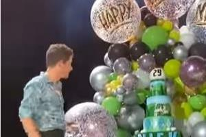 priyanka chopra surprise nick jonas on his birthday