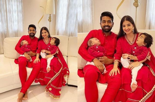 saath nibhaana saathiya actress lovey sasan share first pic of newborn son