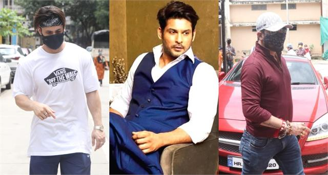 sidharth shukla death asim riaz and other stars outside the cooper hospital