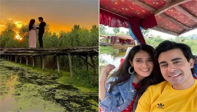 sun le zara romantic song gautam rode and wife pankhuri