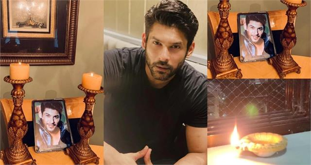 fans light diyas and candles in late actor sidharth shukla loving memory