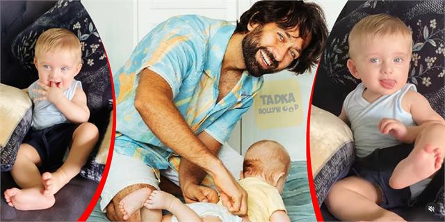 after 7 months nakuul mehta showed his son sufi s full photos