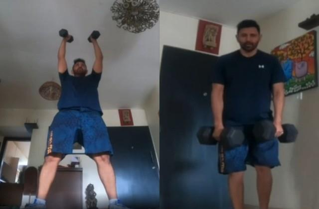 made in heaven 2 actor praveen dabas shares workout video