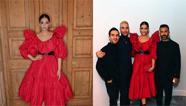 sonam kapoor attends the launch of the bof show with imran amade