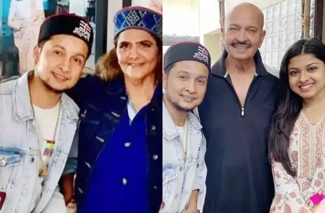 pawandeep rajan and arunita kanjilal met hrithik roshan s parents