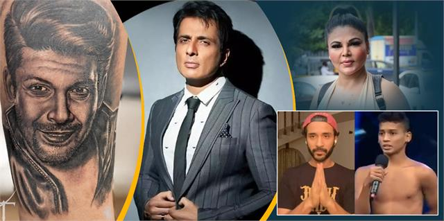 sonu sood evaded over 20 crore taxes and shehnaaz brother tattooed sidharth face
