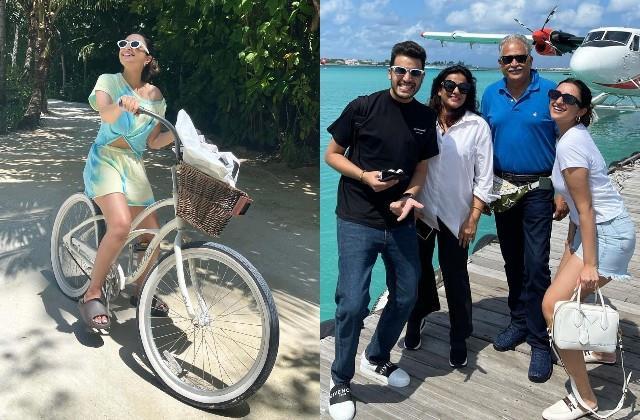 parineeti chopra shares photos from maldives