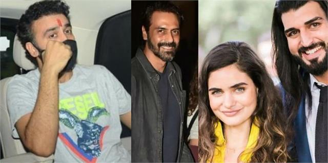 raj kundra released from jail arjun girlfriend brother arrested in drugs case