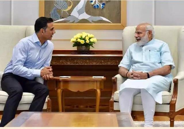 pm modi expressed grief over the death of akshay kumar mother by letter