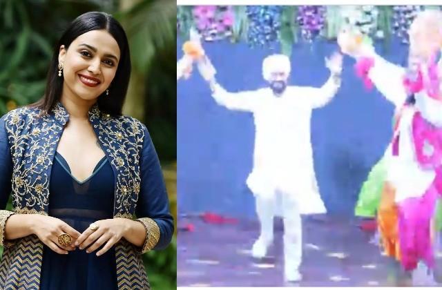 swara bhaskar reaction on punjab new cm charanjit singh channi bhangra video