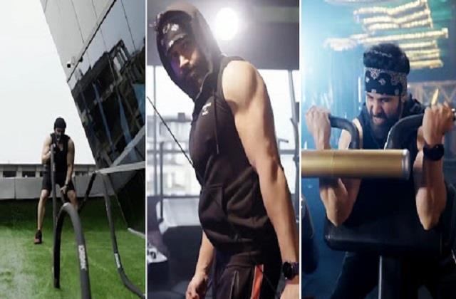 emraan hashmi body transformation for tiger 3 video viral