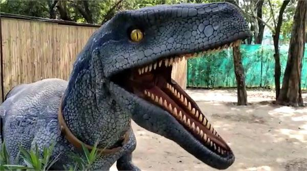 dinosaur park started in chhatbir zoo