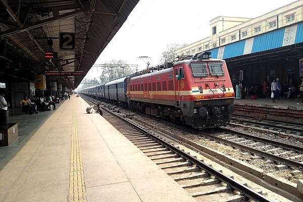 railway station to be built by march